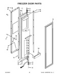 Diagram for 11 - Freezer Door Parts