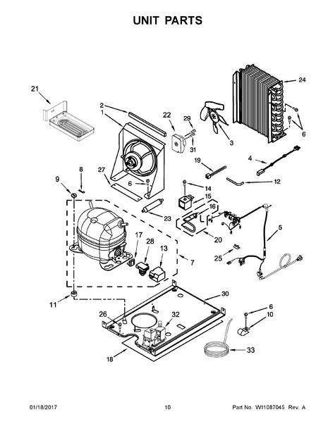 whirlpool kuix505ess2 parts list