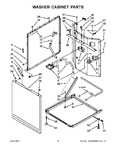Diagram for 08 - Washer Cabinet Parts