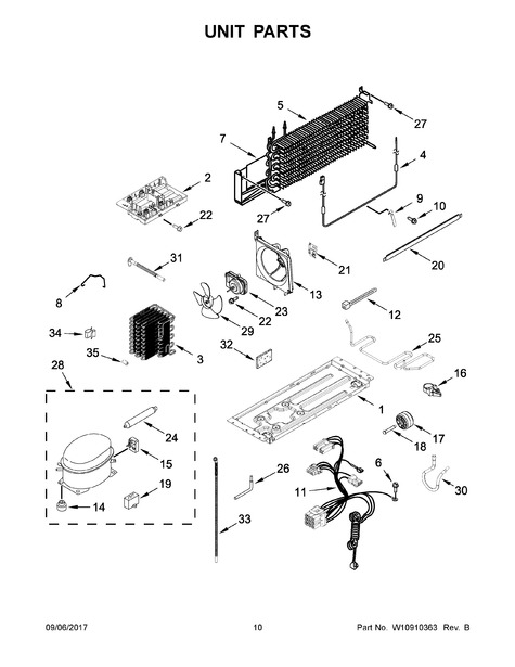 whirlpool wrt318fzdw02 parts list