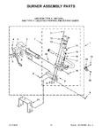 Diagram for 06 - Burner Assembly Parts
