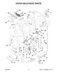 Diagram for 05 - Dryer Bulkhead Parts