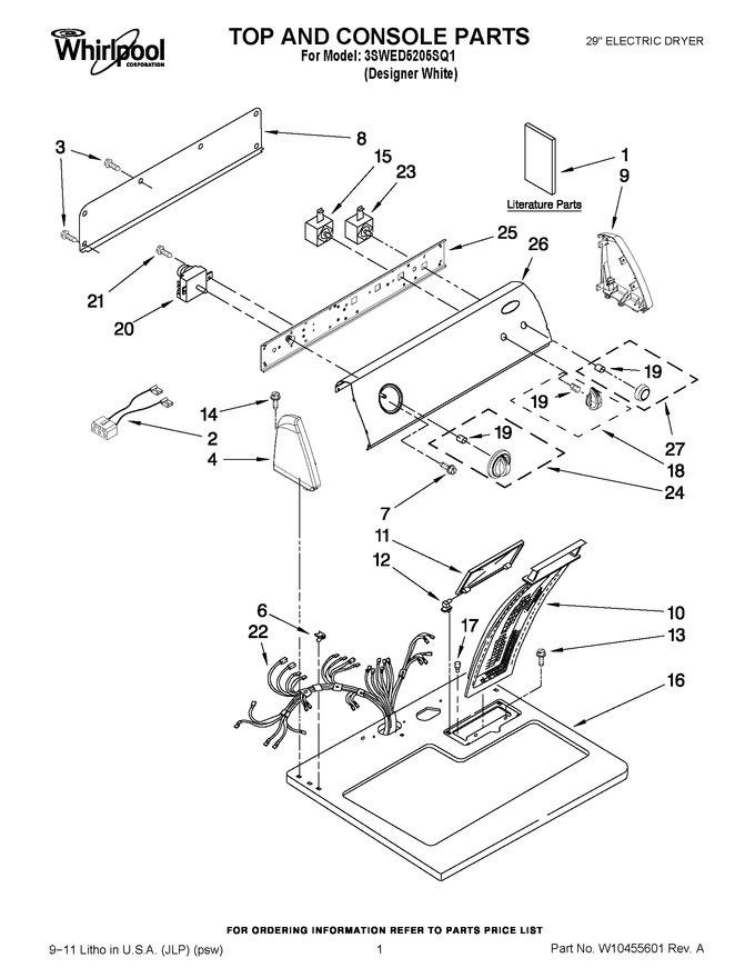 see 25 on the diagram wiring diagram whirlpool dryer model wgd4800bq