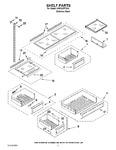Diagram for 06 - Shelf Parts