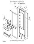 Diagram for 10 - Refrigerator Door Parts