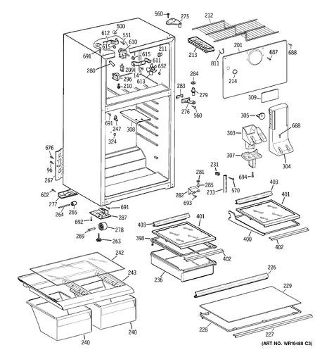 GE GTT15HBRERCC Parts List | Coast Appliance Parts