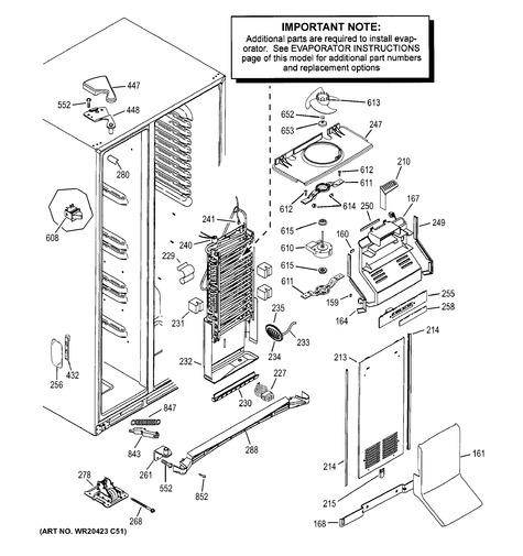Ge Gse30vhbbtss Parts List