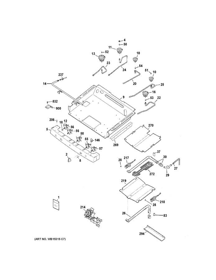 GE Kit Lp Conversion Asm WB49X20382