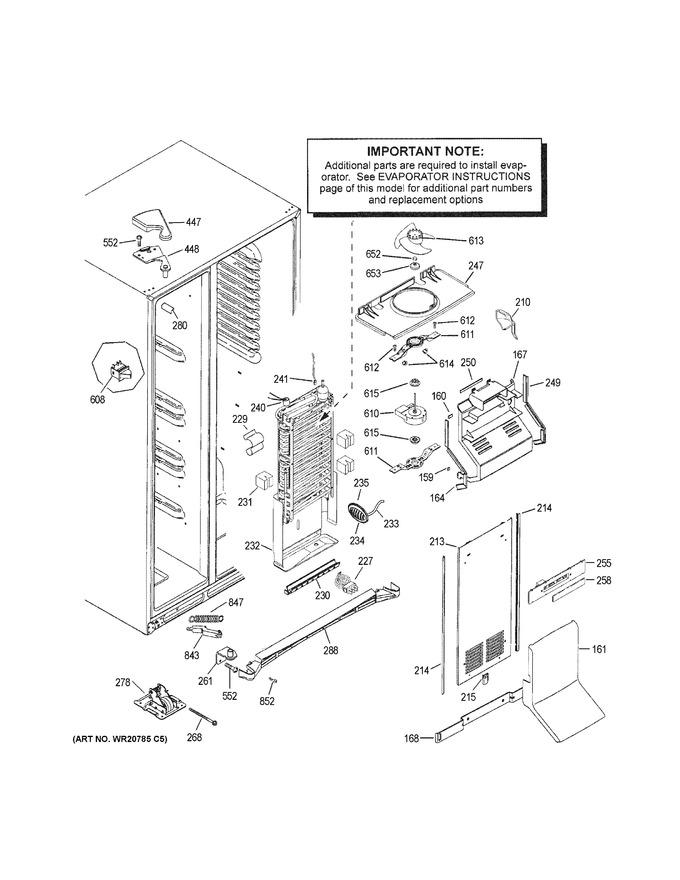 general electric wr60x10318 motor dc evap fan asm