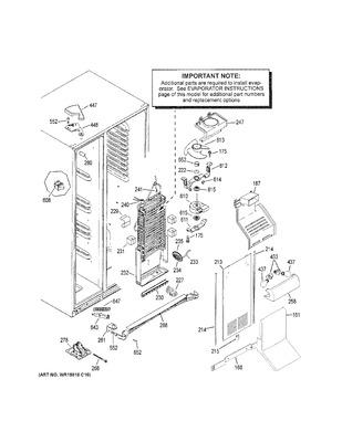 general electric wr02x10668 shunt sensor coast appliance. Black Bedroom Furniture Sets. Home Design Ideas