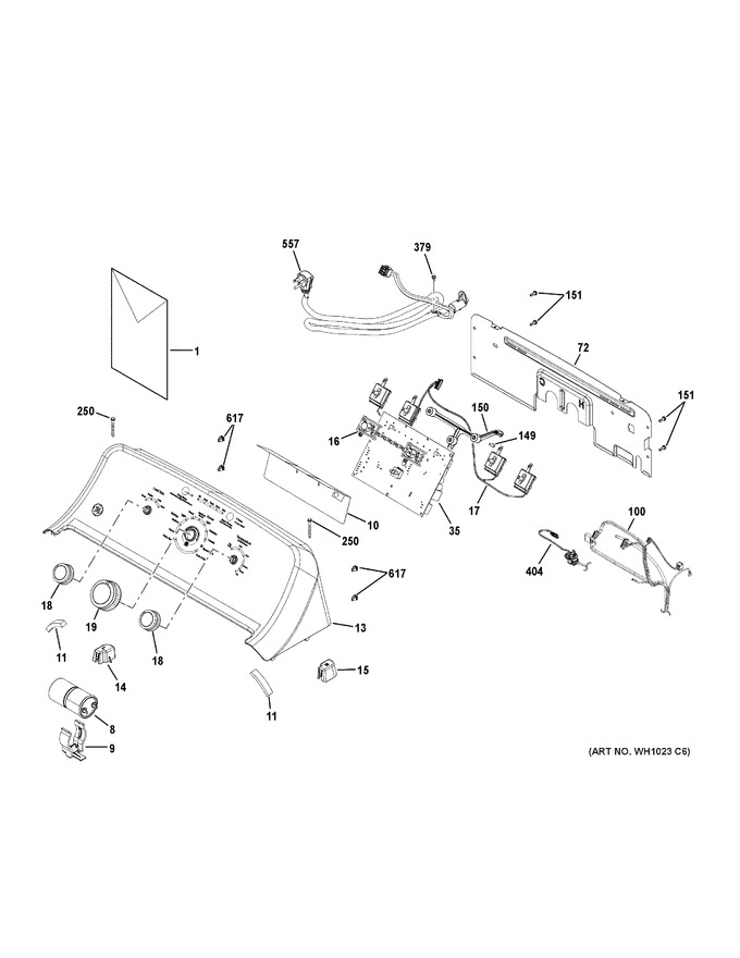 General Electric Wh01x24376 Coast Appliance Parts