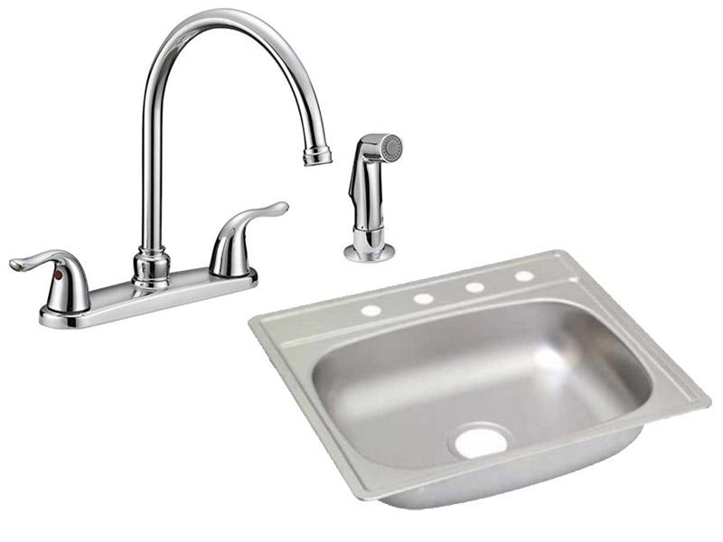 EZ-FLO Sinks / Faucets