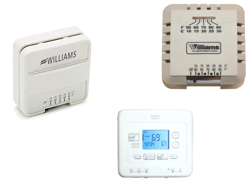 Williams Wall Thermostats