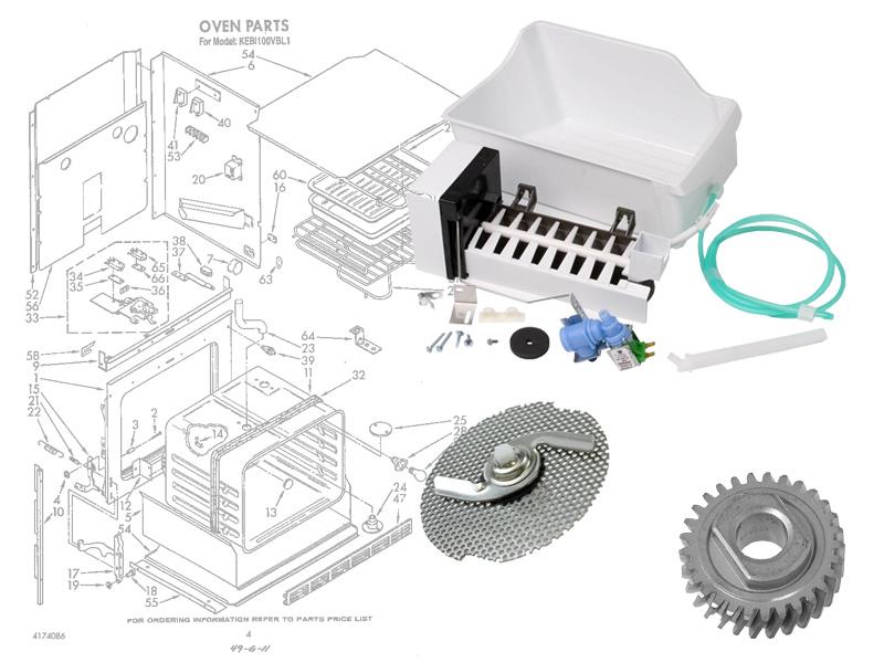 KitchenAid Appliance Parts