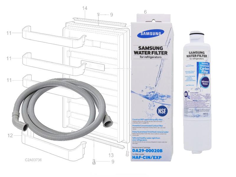Samsung Appliance Parts