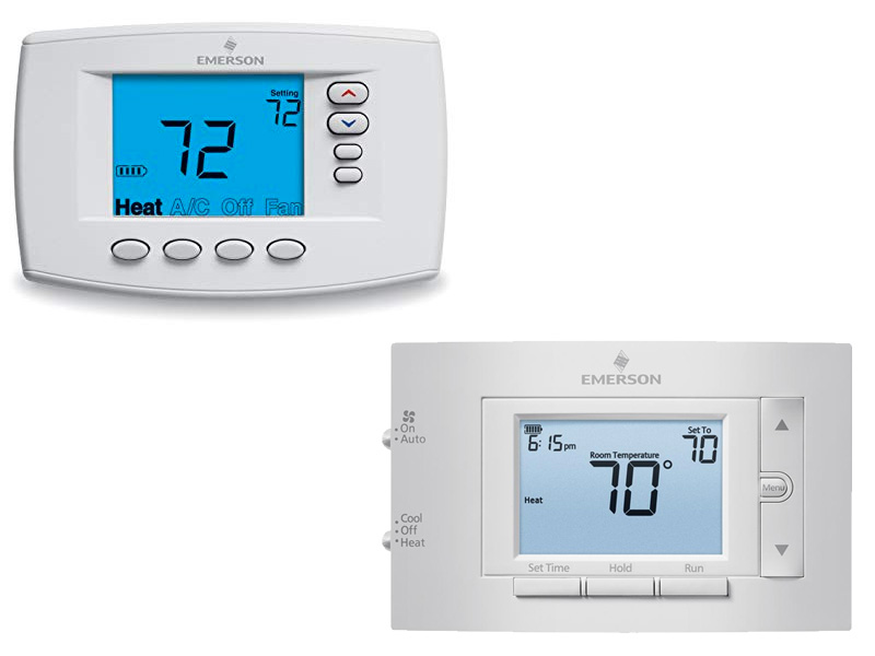 Emerson Wall Thermostats