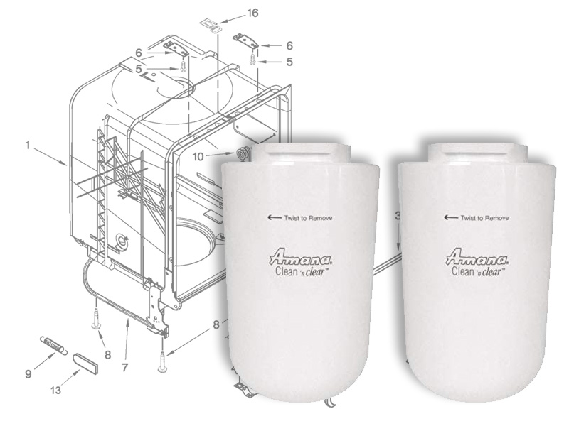 Amana Appliance Parts