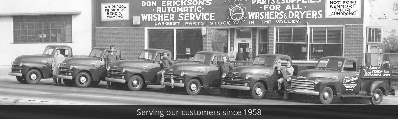 Serving our customers since 1958