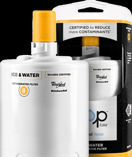 Whirlpool Edr8d1 Everydrop Ice Amp Water Refrigerator